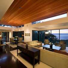 Contemporary Living Room by Dan Curran Architecture, A.I.A.