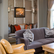 Traditional Living Room by Kristin Okeley Kitchens by Design,KBD Home,KBDNYC