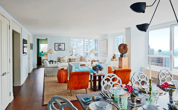 Eclectic Living Room by Christopher Maya Associates Inc.