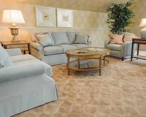 Living - Carpet In Formal Living Room