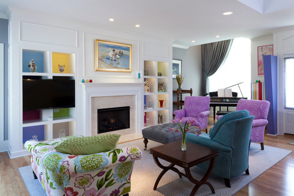 Contemporary Living Room by Kemper Associates Architects, LLC