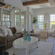 Contemporary Living Room Carriage House