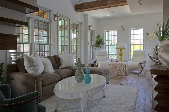 Contemporary Living Room Carriage House