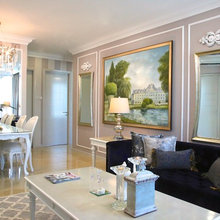 Room Tour: A European-Style Living Room With Island Views