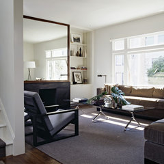 modern living room by Cary Bernstein Architect