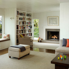 Contemporary Living Room by Cary Bernstein Architect