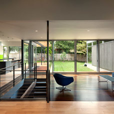 Modern Family Room by Western Window Systems