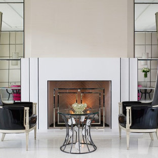Inspiration for a contemporary living room remodel in Phoenix