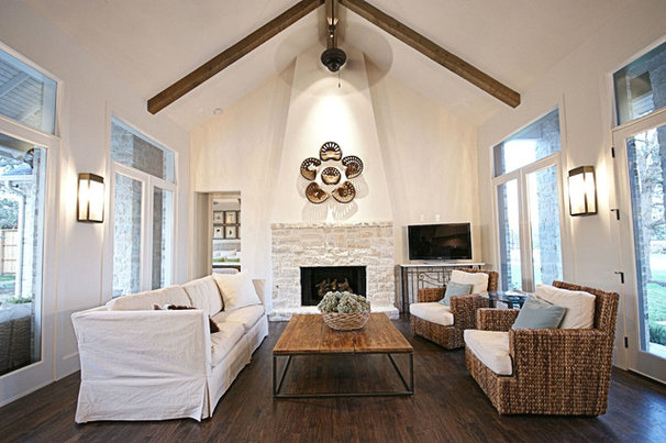 Contemporary Living Room by Victor Myers Custom Homes & Real Estate