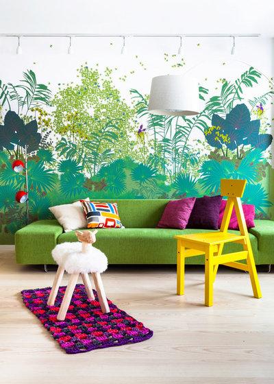 Tropicale Soggiorno by Maurizio Giovannoni Architetto