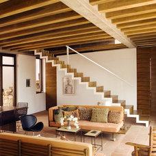 Contemporary Living Room Casa Estudio