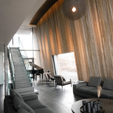 Modern Living Room by Gudmundur Jonsson Arkitektkontor