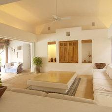 Mediterranean Living Room Casa Rincón del Mar