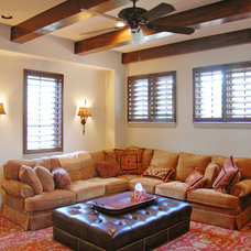 Traditional Living Room by Keesee and Associates, Inc.