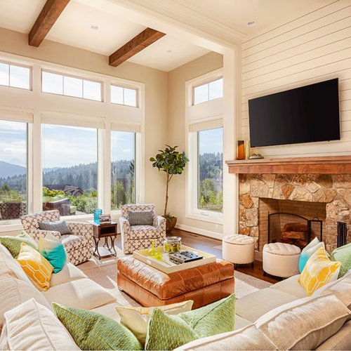 Houzz Fireplace Ideas: Shiplap Fireplace Ideas & Photos