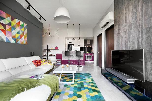 Modern Living Room by Versaform