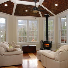 Traditional Living Room by Design Evolutions