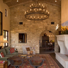 mediterranean living room by Rachel Mast Design