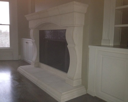 Cast Stone Fireplace Home Design Ideas Pictures Remodel