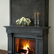 Contemporary Living Room by Omega Mantels of Stone