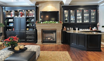Cast stone fireplace mantels in Montreal