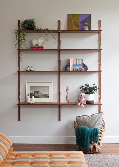 Contemporary Living Room by Regan Baker Design Inc.
