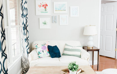 Houzz Tour: A Young Couple's Bright and Cheerful In-Law Suite