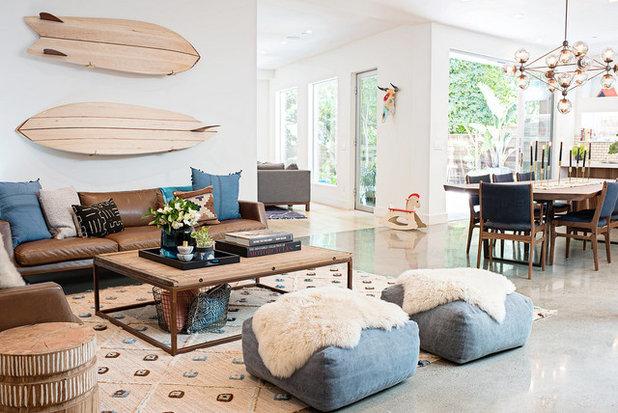 Living Room by Regan Baker Design Inc.