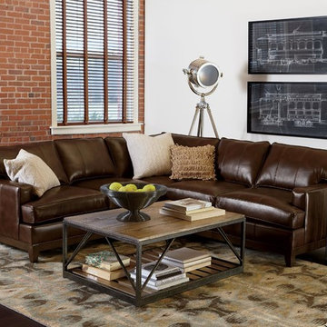 Casual Loft Living Room