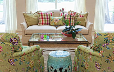 Fabric Focus: Bridge Traditional and Retro Styles With Chintz