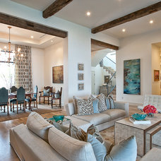 Contemporary Living Room by Bryant Hill Media