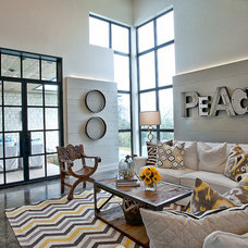 Contemporary Living Room by Glynis Wood Interiors