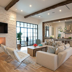 contemporary living room by Greenbelt Homes