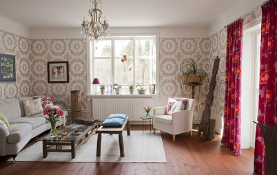 Houzz Tour: Eclectic Global Style in a Swedish Village