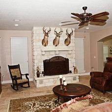 Traditional Living Room by Meier Custom Built Homes, LLC