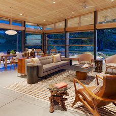 Midcentury Living Room by Jeffers Design Group