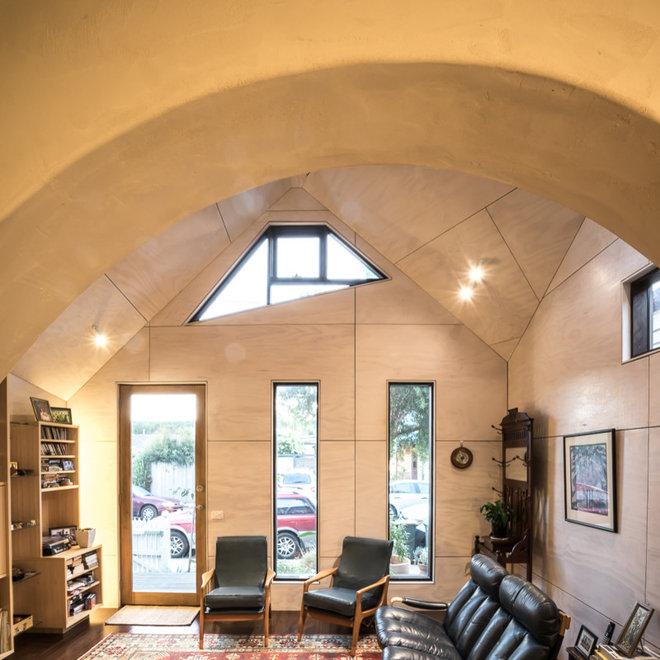 Contemporary Living Room by eme design