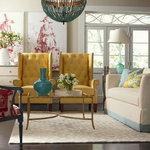 Baxton Studio Millicent Linen Arm Chair Transitional