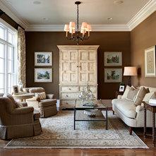 Traditional Living Room By Carolina Design Associates, LLC Part 57