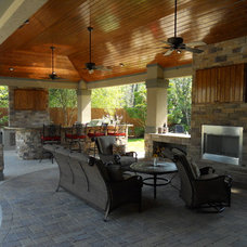 Traditional Living Room by The GoodLife Outdoor Living