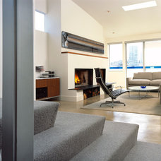 Contemporary Living Room by CCS ARCHITECTURE