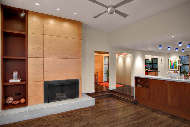 Contemporary Living Room by Michael Knowles, Architect