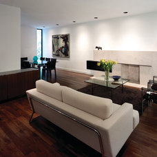 Contemporary Living Room by Taylor Smyth Architects