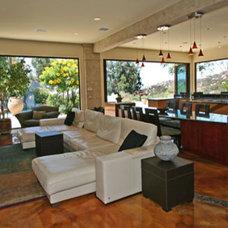 Contemporary Living Room by Cedo Design