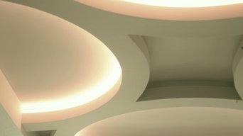 Ceiling lighting detail