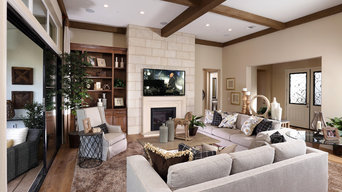 Celebration Model Homes- Living Room