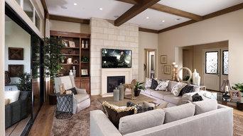 Celebration Model Homes- Living Room
