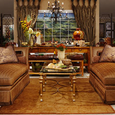Traditional Living Room by Interiors by Becky Spier, Inc.