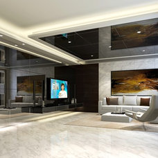 Contemporary Living Room by INFINITY DESIGN