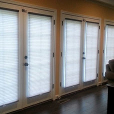 Contemporary Living Room by Delmarva Blinds & Shutters